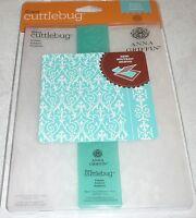Provo Craft NOM064236 Cuttlebug 5 x 7 Embossing Folder Border Set Anna Griffin Foundry Craft Supplies