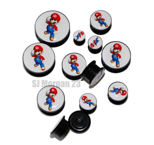 elección de 6 8 10 12 14 16 18 20 22 25 Mm Super Mario oído anillo Camilla Plug