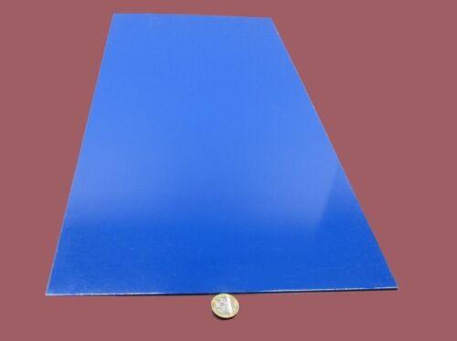 "Garolite Micarta Phenolic BLUE G10FR4 Sheet  .063/"" x 12/"" x 24/"""