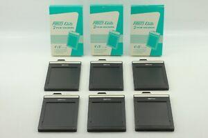 N-MINT-in-BOX-Fidelity-Elite-2-Film-Holders-4x5-x-3-Set-Total-6-Japan-471