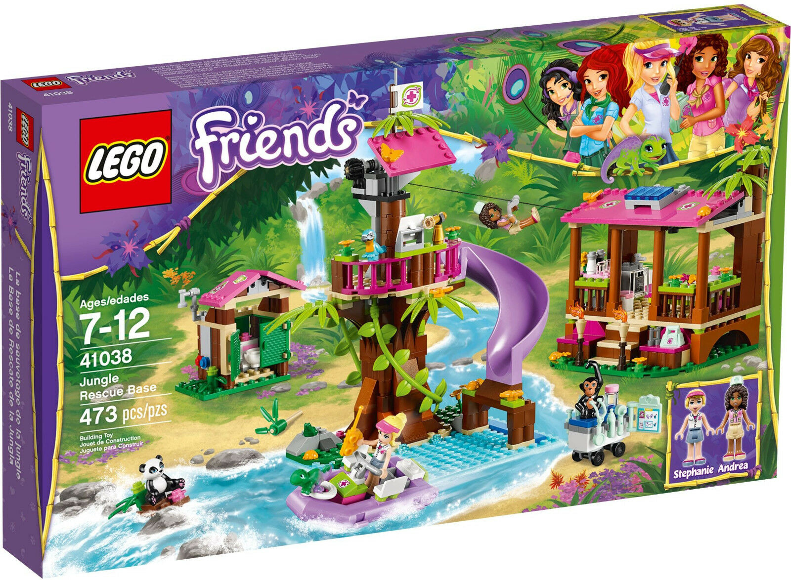 Lego 41038 Friends Jungle Rescue Base  Sealed Box