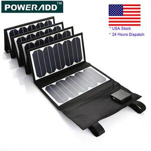 5v 60w portable solar panel battery charger usb power bank. Black Bedroom Furniture Sets. Home Design Ideas