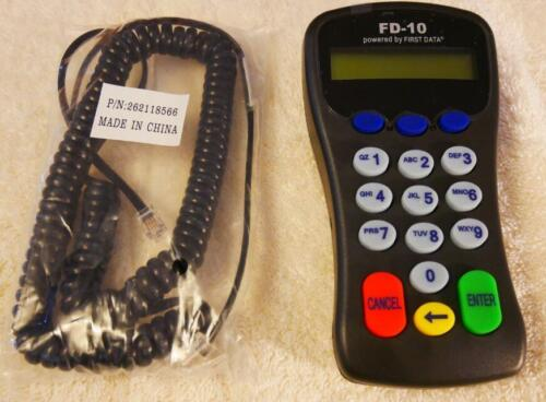 for FD100//FD100Ti//FD50Ti//FD200//Fd130 more First Data FD10 PINpad PCI PED