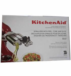 KitchenAid-5-Blade-Spiralizer-Attachment-KSM1APC-Stand-Mixers-Peel-Core-Slice