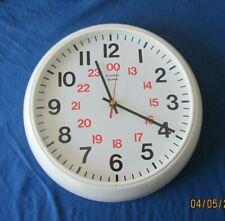 Skilcraft 12 24 Hour Wall Clock Analog Quartz Nsn3428199 For Sale Online Ebay