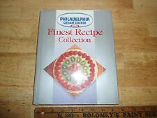 Philadelphia Brand Cream Cheese Finest Recipe Collection (1993, Hardcover)