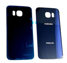 "NEW OEM Back Cover Glass For Samsung Galaxy S6 G920 Sprint,Tmobile ~ "" BLUE""  US"