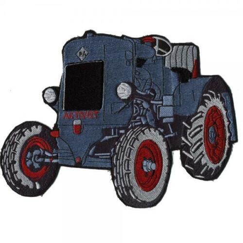 Espalda Patch-tractor azul 26 x 21 cm-parches stick a... 07455-talla aprox