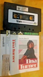 TINA-TURNER-The-very-best-of-Team-records-Black-Music-cassette-tape-collectable