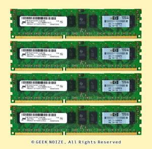 Micron-Server-RAM-16GB-4x-4GB-PC3L-10600R-ECC-REG-DDR3-1333-1Rx4-1-35v-Memory