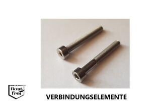 10 joint de culasse vis DIN 912 a2 m6x50 vollgewinde