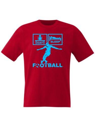 BIG Sizes Small upto 8XL Eat Sleep Football FC T Shirt