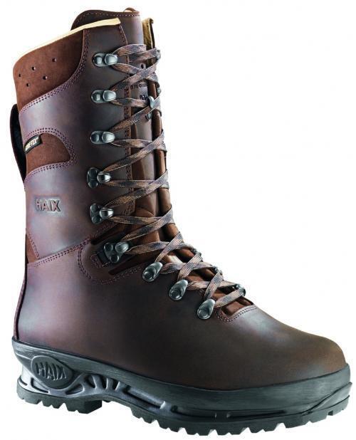 Haix Stiefel mit Lederfutter, Haix Montana braun neu NEU 39-47 rutschfeste Sohle