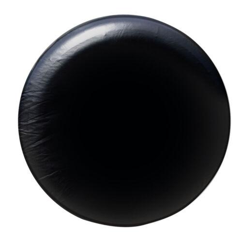 "17/"" Black Spare Wheel Tire Cover Heavy Vinyl Easy Install Protector 31/"" 32/"" 33/"""