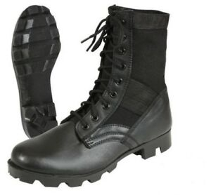 Jungle-Boots-Black-Leather-Military-Rothco-5081