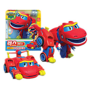 Gogo Dino Mini Rex Toy Car Transformer Dinosaur Character Children