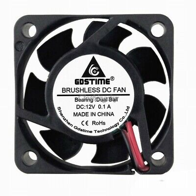 PC Computer Case System Cooling Fan Cooler 40mm 2Pin 40x40x20mm RoHS Standard