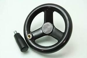Unused Elesa VR.125 FP+I-SI Spoked Hand-Wheel with Handle I.301/50+x-M8