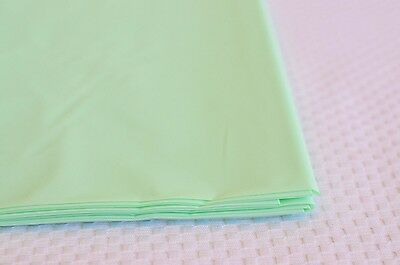 "Premium Plastic Seafoam Mint Green Table Skirt 29"" x 14"" Reusable"
