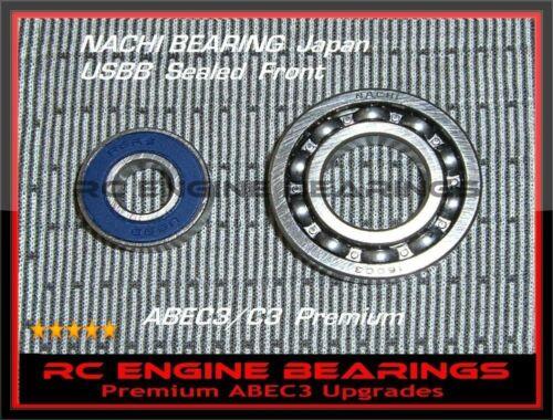 OS Max heli engine HZ 91 OS HZR 105 GT15OS SZ-H91 RC Engine BEARINGS USBB NACHI