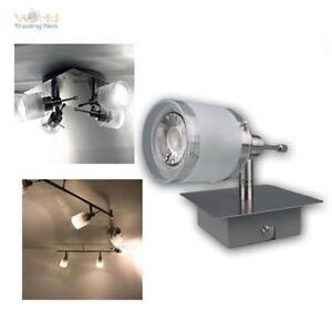 COB-LED-eclairage-de-salon-GBA-Aluminium-Verre-Plafonnier-Luminaire-Plafond