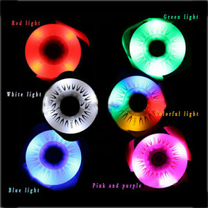 Dia.72/76/80mm Flash Light PU Roller Inline Sliding Flash Roller Skate Wheel HOT