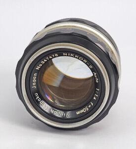 Nippon-Kogaku-Nikkor-50mm-F1-4-Manual-Lens-USER-QUALITY-TESTED