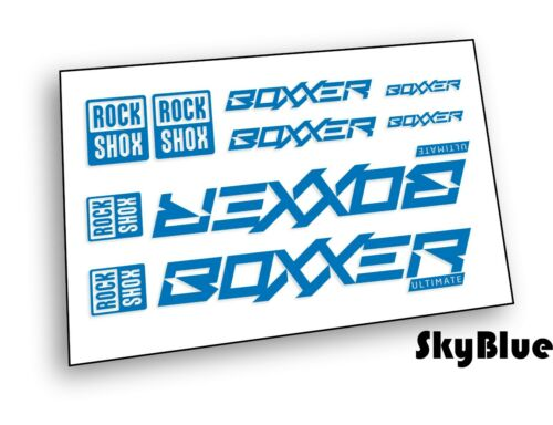Rock Shox BOXXER 2020 ULTIMATE Mountain Bike Cycling Decal Sticker
