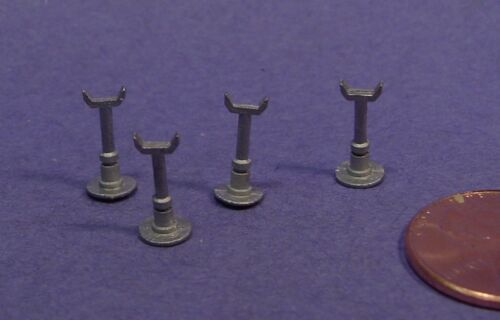 O//On3//On30 WISEMAN DETAIL PARTS #O229 ENGINE HOUSE PIPE OR FLUE FLOOR STANDS