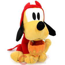 "Disney Mickey Mouse Friends Halloween Costume Pluto Plush Doll 12"" Soft Stuffed"