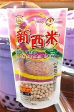 TaroTapioca Pearl Boba Bubble Tea WuFuYuan Ready in 5 Minutes 8.8 Oz.