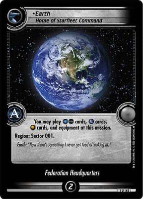 Commanding Officer FOIL 0P10 Star Trek CCG 2E Tenth Anniversary Promo Data