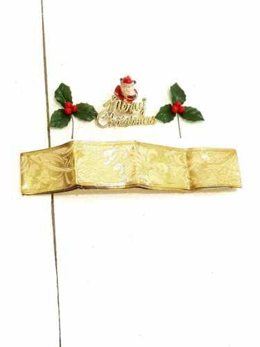 Noël//Noël Gâteau Décorations Gâteau Toppers gâteau Volants /& Ornements 5 pièce ensembles