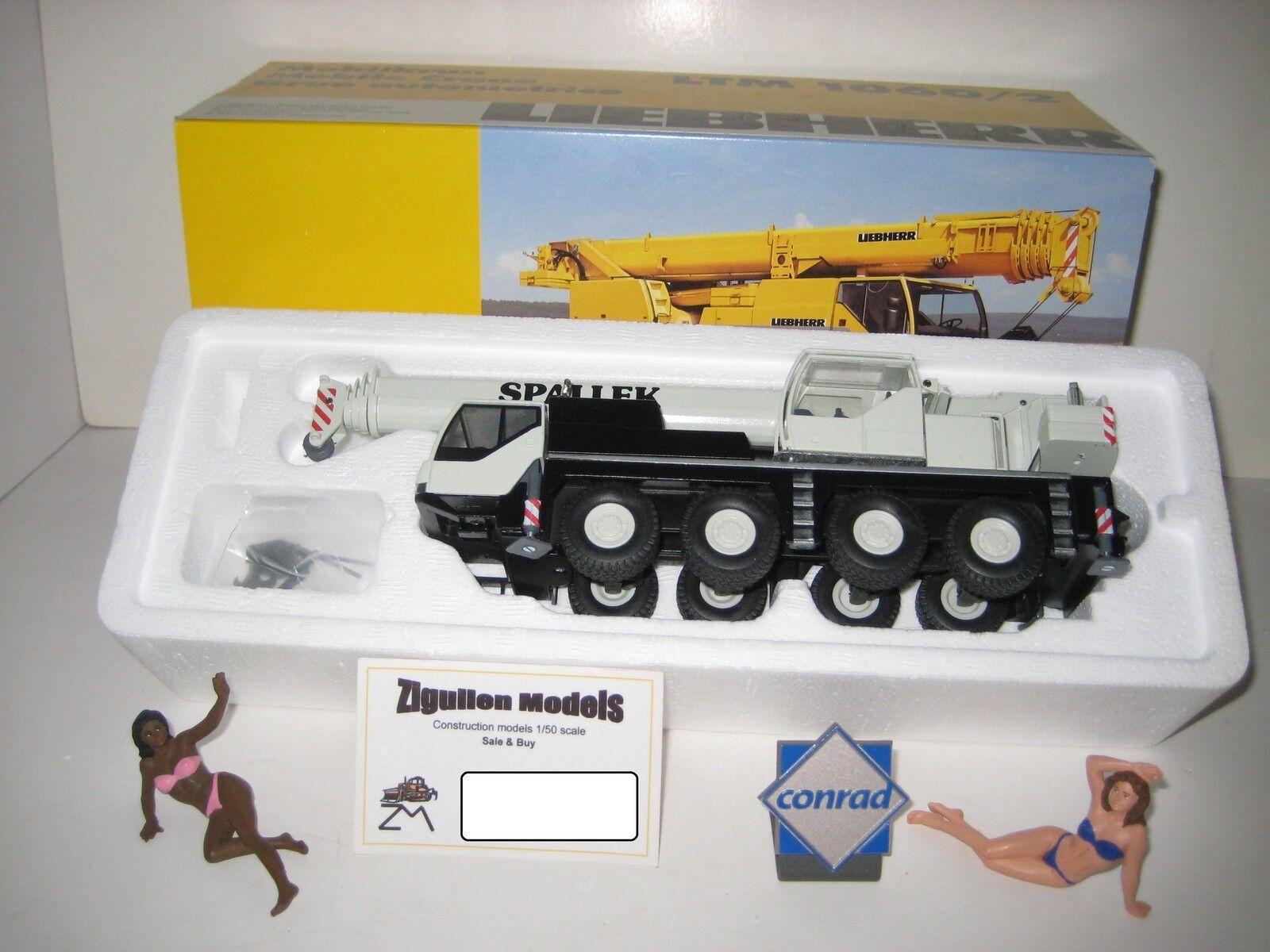 Liebherr LTM 1060-2 Autokran spallek  2094.16 CONRAD 1 50 NEUF dans sa boîte