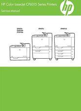 HP Color CP6015 Series Printers - Service Manual PDF