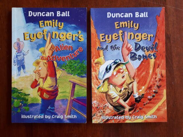 Emily Eyefinger 5 6 Eyefinger's Alien Adventure & the Devil Bones - Duncan Ball