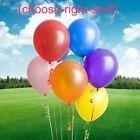 """10"""" 100 Grande TINTA UNITA PALLONCINI all'elio Compleanno Matrimonio baloon"""