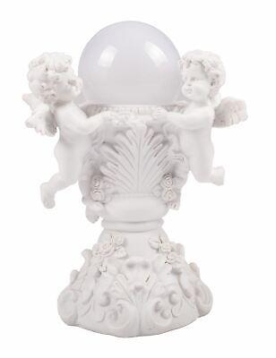 Led Engel Am Brunnen Schutzengel Solarleuchte Leuchtkugel Grabschmuck Dekoengel Modernes Design