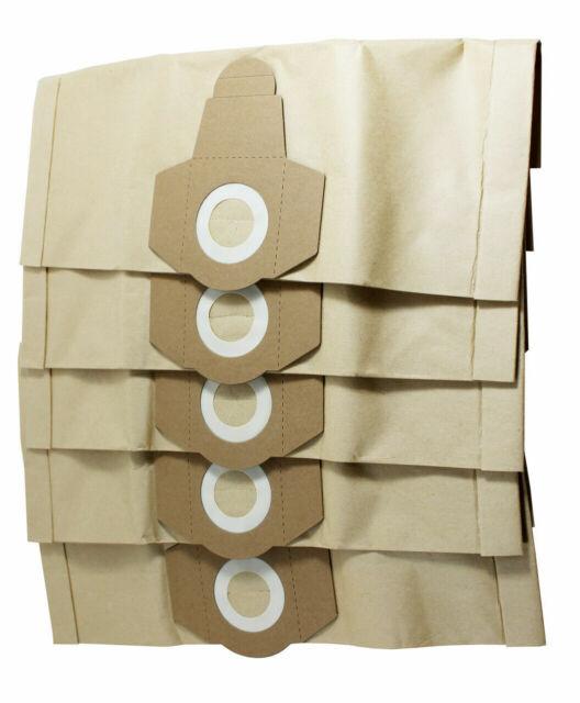 5x Staubsaugerbeutel geeignet Rowenta PRO 1500W Wet/&Dry 30 Liter