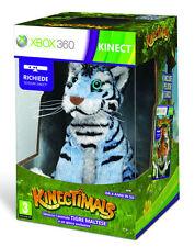 Kinectimals + Maltese Tiger Plush (Kinect) XBOX 360 IT IMPORT MICROSOFT