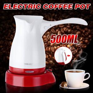 Electric-Turkish-Greek-Coffee-Maker-Machine-Tea-Moka-Pot-Ibrik-w-Folding-Handle