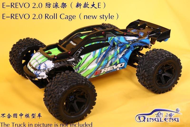Nylon Shell Body Keel Roll Cage for Traxxas 1/10 NEW EREVO E-REVO 2.0
