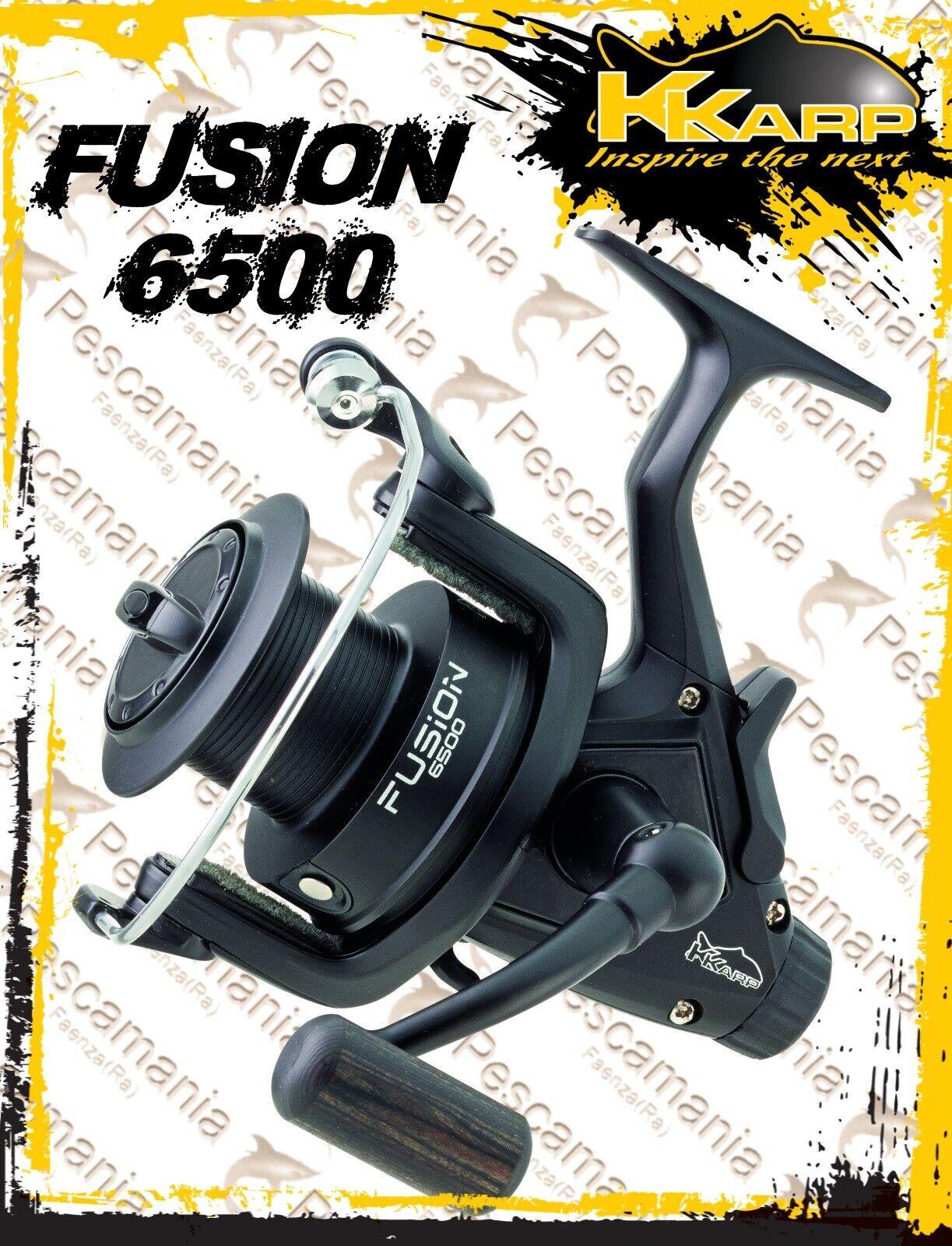 Mulinello KKarp FUSION 6500 gratuito spool autop pesca autop correrener