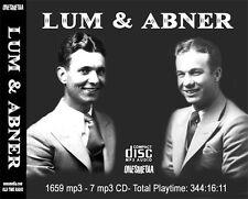 LUM & ABNER - Old Time Radio - 7 CD SET - 1683 mp3