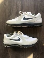 2f9d11d7cb6bc item 5 Nike Lunarswift+ Mens Sz 11 Running Cross Training Shoes White Gray 386365  102 -Nike Lunarswift+ Mens Sz 11 Running Cross Training Shoes White Gray ...