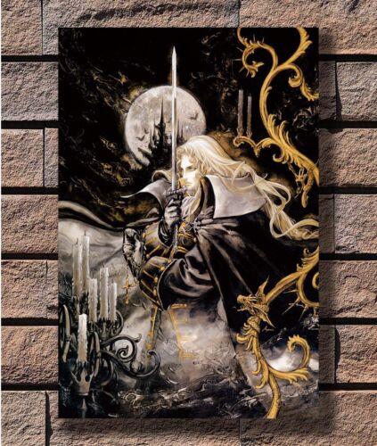 RGC Huge Castlevania Symphony of the Night Alucard Poster Fabric 24x36 E-1143