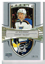 05-06 The Cup PLATINUM Rookie xx/25 Made! Jay McCLEMENT #182 - Blues Rookie