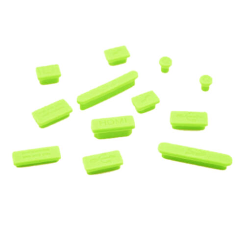 Silicone Rubber Anti-Dust Plug Cover Stopper for MacBook Air Retina11 13Por BE