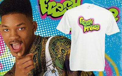 The Fresh Prince Of Bel Air T-Shirt Retro Tv 90's Top Unisex Men's Tee New