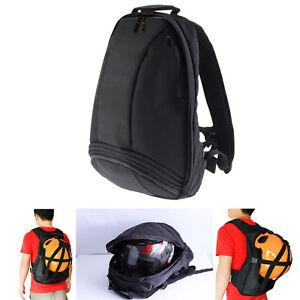 BACKPACK HELMET BAG Folding Motorcycle Backpack Laptop Travel Bag Rain Cover New